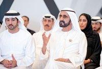 """أكبرهم وولي عهد دبي هو حمدان بن محمد بن راشد بن سعيد ال مكتوم الشهير بـ""""فزاع"""""""