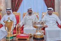 """يذكر أن الـ3 أبناء هم أشقاء من نفس الأم وهي سمو الشيخة هند بنت مكتوم والتي تعرف بـ""""أم الإمارات"""""""