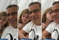 مصطفى الأغا وابنته ناتالي