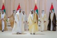 أقيم الحفل في مركز دبي التجاري العالمي وسط تنظيم أشرفت عليه السلطات في دبي