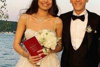 الثنائي تزوج في فندق فخم على شاطئ البوسفور في مدينة اسطنبول في تركيا