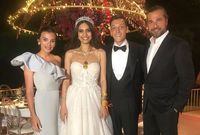 كما حضر النجم التركي إنجين ألتان بطل مسلسل قيامة أرطغرل الذي يعد أشهر مسلسل تركي في الوطن العربي