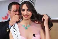 وحصلت أمينة على لقب ملكة جمال تركيا سابقًا
