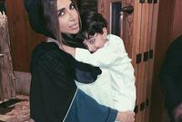 سارة المدني لديها ابن يُدعي مكتوم وتنشر له صور باستمرار عبر حسابها على الانستجرام