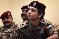يحمل الآن رتبة ملازم ثاني في الجيش الأردني