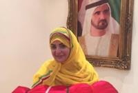وأكدت في فيديوهات لاحقة، أن الحكومة الإماراتية لم تقصر معها، وأنها تلقت مساعدات من بعض الجهات، ووجهت الشكر بوجه خاص إلى ديوان سمو الشيخ محمد بن زايد.