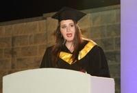 أما مؤخرًا فقد حصلت زهوة على درجة الماجستير من جامعة باريس للعلوم السياسية