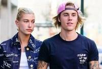 جاستن بيبر وزوجته عارضة الأزياء الأميركية هايلي بالدوين