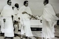 صورة نادرة تجمع الملك فيصل والملك فهد والملك عبد الله ملوك السعودية