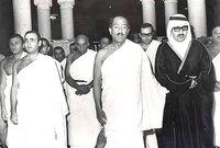 الرئيس المصري محمد أنور السادات رئيس مصر حتى 1981