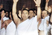الرئيس المصري محمد حسني مبارك الذي حكم حتى 2011