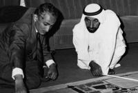 كما قام بعمل شبكة طرق كبيرة وضخمة في الإمارات يسرت على المواطن الإماراتي التنقل والسفر عبر الأحياء والمناطق المختلفة بها