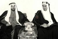 كان له مواقف كثيرة مع مصر خلال حرب أكتوبر المجيدة بين مصر وإسرائيل حيث قام هو والملك فيصل بالدعوة لحظر النفط العربي على دول العالم المساندة لإسرائيل