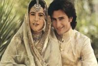 تزوج خان من الممثلة الشهيرة امريتا سينغ وكانت تكبره بـ12عامًا وأنجبا سارة وإبراهيم وانفصلا بعد أن استمر زواجهما 15 عامًا