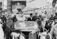 صور لعودة الملك الراحل محمد الخامس من المنفى