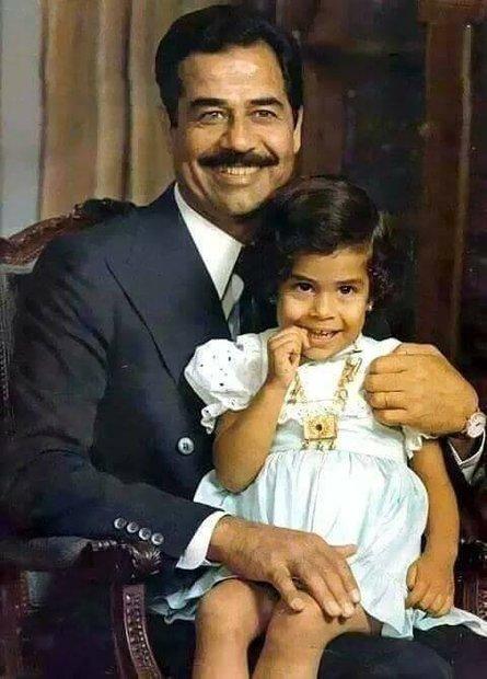 ولدت رغد صدام حسين في الـ 2 من سبتمبر عام 1968 ببغداد