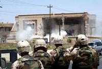 صور من المنزل الذي قصفته القوات الأمريكية والذي كان به قصي وعدي