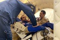 وخاض هزاع على مدى أكثر من عام  تدريبات مختلفة ومتنوعة تمهيدًا لرحلته للمحطة الدولية كما خضع لمجموعة من التدريبات النوعية بوكالة ناسا للتدريب على مهام رحلته الفضائية