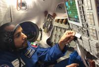 التدريبات شملت التدريب على الأجهزة والمعدات التي سيستخدمها في رحلته بجابب التعامل مع حالات الطوارئ وكذلك التعرّف إلى أجزاء محطة الفضاء الدولية عن طريق نموذج كامل من المحطة موجود بوكالة ناسا