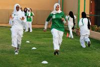 وفي سبيل النهوض بأوضاع المرأة السعودية تم السماح للفتيات بممارسة الرياضة في المدارس الحكومية، بما يتناسب مع أحكام الشريعة الإسلامية