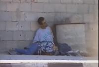 وقع الطفل محمد الدرة فجأة على ساق والده بعد إصابته بطلقات نارية أردته قتيلًا ليمسك به ويطلق صرخات وآهات ويحتضن ابنه الشهيد في مشهد هز العالم العربي والإسلامي بأكمله