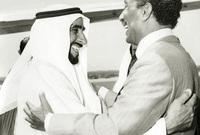 أعلن الشيخ زايد وقت الحرب أن «النفط العربي ليس أغلى من الدم العربي، وأن كرامة العربي هي الأغلى والدم العربي هو الأشرف، ودونهما يرخص المال والثروة»