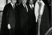 """كما أمر الملك فيصل ببناء جسر جوي لإرسال 20 ألف جندي سعودي للجبهة السورية تحت مُسمى """" لواء عبد العزيز الميكانيكي""""، وقدّم مساعدات مالية بقيمة 300 مليون دولار لمصر وسوريا خلال أيام الحرب"""