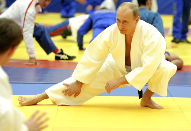 الرئيس الروسي فلاديمير بوتين هو أشهر رئيس رياضي في العالم حيث يمارس عدد كبير من الرياضات في آن واحد بل وبطل إحدى الرياضات