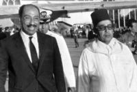 وقام الملك الحسن الثاني بتقديم دعم مادي لمصر خلال الحرب