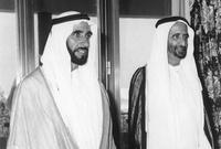 شارك الشيخ زايد بن سلطان آل نهيان في صناعة الاتحاد.