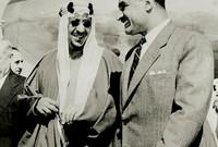 قام بإنشاء شبكة طرق برية في المملكة وقام بإنشاء عدة مطارات وتطويرها كما أنشأ عدة موانئ أبرزها ميناء الملك عبد العزيز في الدمام