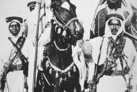 شارك في غزوات والده ومعاركه ضد آل رشيد وهو ابن 13 عام حيث فكان أحد أذرع والده في حروبه