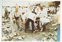 قامت مجموعة كبيرة من الحجاج الإيرانيين الشيعة بتشكيل مسيرة صاخبة أشاعت الفوضى والاضطراب بين حجاج بيت الله الذين أتوا من مختلف أنحاء العالم