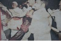 قامت قوات الأمن السعودي بالتدخل وقامت بمنع المواطنين وبقية الحجاج من الإصطدام بالإيرانيين المتظاهرين حرصًا على سلامة الطرفين لكنهم فوجئوا بغضب الإيرانيين والهجوم عليهم