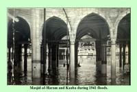 ألحقت كذلك السيول خسائر كبيرة بمدينة مكة في هذا العام لكن تمكنت المملكة من إصلاح الأضرار وتهيئة الحرم والكعبة لأداء الفريضة المقدسة للحجاج والمعتمرين خلال فترة قصيرة