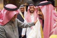 ناصر القصبي مع خادم الحرمين الشريفين الملك سلمان بن عبد العزيز