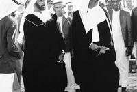 في اجتماع عقد بين الشيخ زايد بن سلطان آل نهيان، حاكم أبو ظبي، والشيخ راشد بن سعيد آل مكتوم، حاكم دبي، في قرية السميح الحدودية في فبراير 1968، اتفقا على حماية المنطقة بإقامة اتحاد يضم الإمارات الخليجية معًا