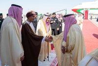 الملك سلمان مستقبلًا السيد فهد بن محمود آل سعيد نائب رئيس الوزراء لشؤون مجلس الوزراء بسلطنة عمان