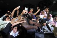 شهدت السعودية لأول مرة في تاريخها إقامة عروض المصارعة الحرة للمحترفين WWE