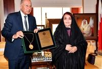 الشيخة سبيكة قرينة الملك حمد بن عيسى آل خليفة ملك البحرين والسيدة الأولى ورئيسة المجلس الأعلى للمرأة