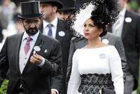 الأميرة هيا بنت الحسين زوجة الشيخ محمد بن راشد آل مكتوم نائب الرئيس الإماراتي رئيس مجلس الوزراء وحاكم دبي