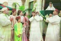 """زفت الأميرة """"لالة سكينة"""" إلى عريسها، المهدي الركراكي، حفيد أحد فقهاء الملك الراحل الحسن الثاني، في يونيو 2014، بحضور الملك محمد السادس"""