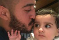 صور تجمعه بابنته