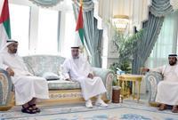 وآخر ظهور له، كان بمناسبة اليوم الوطني الـ47 لدولة الإمارات، حينما استقبل أخاه الشيخ محمد بن زايد آل نهيان ولي عهد أبوظبي، الذي هنأه باليوم الوطني.