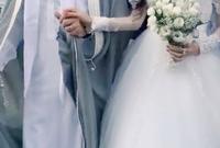 لقطات من حفل زفافهم