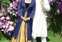 كما كان النجم الهندي العالمي عامر خان حاضرًا هو الآخر