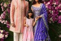 وحضرت العائلة الفنية النجم أبهيشيك باتشان ابن أميتاب باتشان وزوجته النجمة العالمية إيشواريا راي
