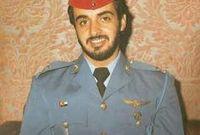 بعدها انضم إلى دورة الضباط التدريبية في إمارة الشارقة بدولة الإمارات العربية المتحدة.