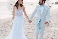 تزوجا في مدينة لوس أنجلوس في الولايات المتحدة الامريكية عام 2014