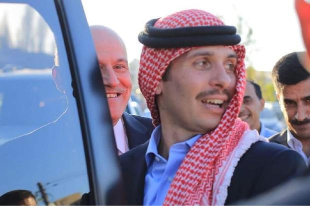 الأمير حمزة بن الحسين بن طلال من مواليد 29 مارس 1980